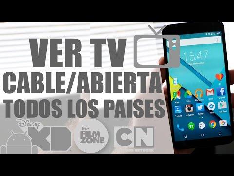 SUPER APP  Para Ver Todos Los Canales de TV [HD] En Tu Android [COMO VER TV EN TU ANDROID 2016]