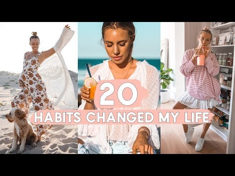 20 Healthy Habits That *CHANGED MY LIFE* Happy Hacks & Trick