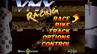 VMX Racing - Gameplay Footage - PS1/PSX/PSOne - Retroarch 1080p