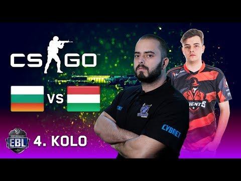EBL CS:GO LIGA [20.000 EUR] - 4. kolo - Windigo (Bugarska) vs GameAgents (Mađarska)