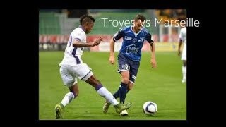 Troyes ac vs marseille ligue 1 15/04/2018