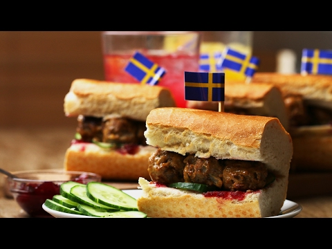 Celebrate Eurovision With These Saucy Swedish Meatball Subs