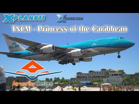 Airworthy Designs TNCM - Princess of the Caribbean for X-plane 11