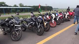 Ride  to agra express way super bike