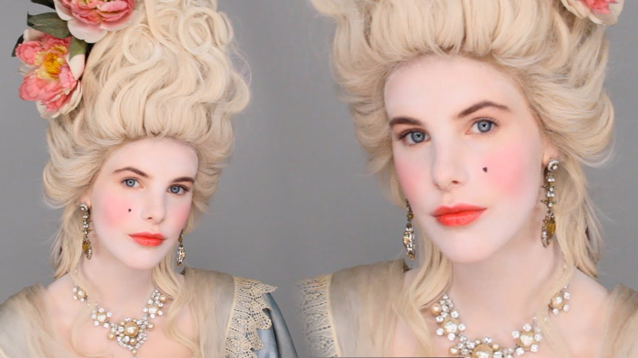 Marie antoinette inspired makeup tutorial costume party look marie antoinette inspired makeup tutorial costume party look facepaintbook youtube baditri Images