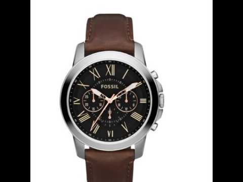 72e58bac8931 Relojes Fossil para hombre - YouTube