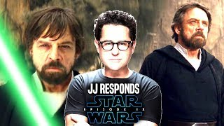Star Wars! JJ Abrams Confirms Luke NOT Coming Back To Life In Episode 9! Good Or Bad