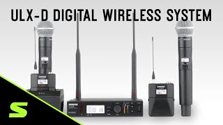 Shure ULX-D Digital Wireless System Overview