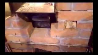 Температура печи в парилке бани. Динамика нагрева дровами(, 2014-10-19T15:51:39.000Z)