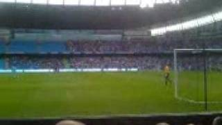 the footie match man city v fulham