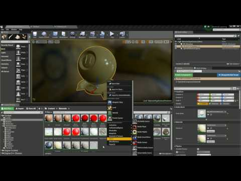 Unreal Engine Basic Materials Pt 01: Base Material Creation