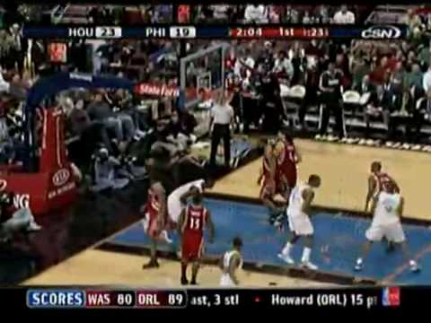 Top 10 Plays Of The Philadelphia 76ers In 2008-09 Season