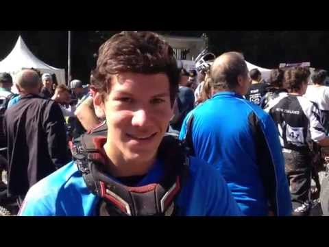 Interview w/Jack Almond @DH Worlds after the Junior M Race