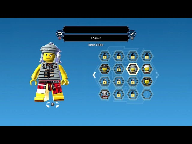 LEGO City Undercover (PS4) Roman Soldier Unlock Guide Gameplay
