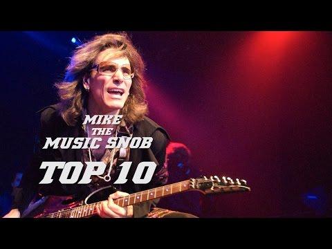 TOP 10 REASONS STEVE VAI ROCKS   Mike the Music Snob