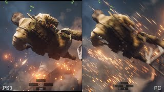 Battlefield 4: PS3 vs. PC Comparison