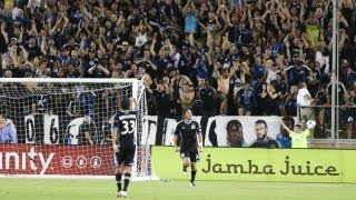 GOAL: Alan Gordon heads in the game winner | San Jose Earthquakes vs LA Galaxy