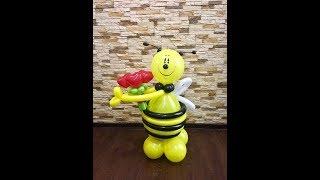 Пчела - оса из воздушных шаров/Bee balloon
