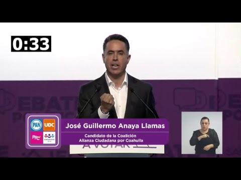 Segundo Debate Coahuila 2017
