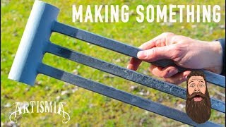 Make an Articulating Metal Swing Arm TV Stand ~ Artismia DIY How to.
