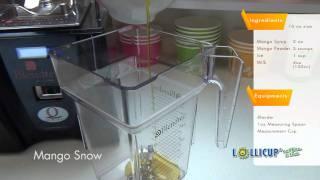 How To Make Mango Snow Slush