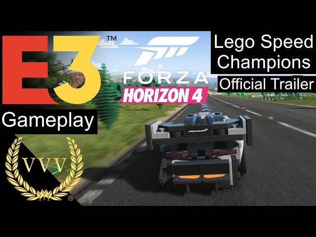 Forza Horizon 4 - Lego Speed Champions Trailer and Gameplay clips