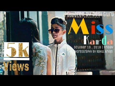 | *Miss Karda* Song |  Jazzy B | Choreography By Rahul Aryan | Short Film | Cute Love  Story |