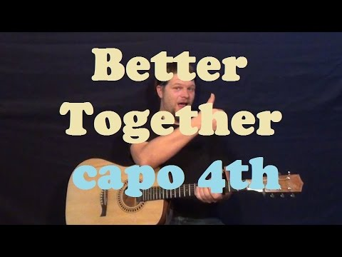 Better Together Jack Johnson Easy Guitar Lesson How To Play Strum