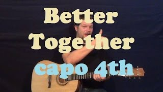 Better Together (Jack Johnson) Easy Guitar Lesson How to Play Strum Chords Tutorial