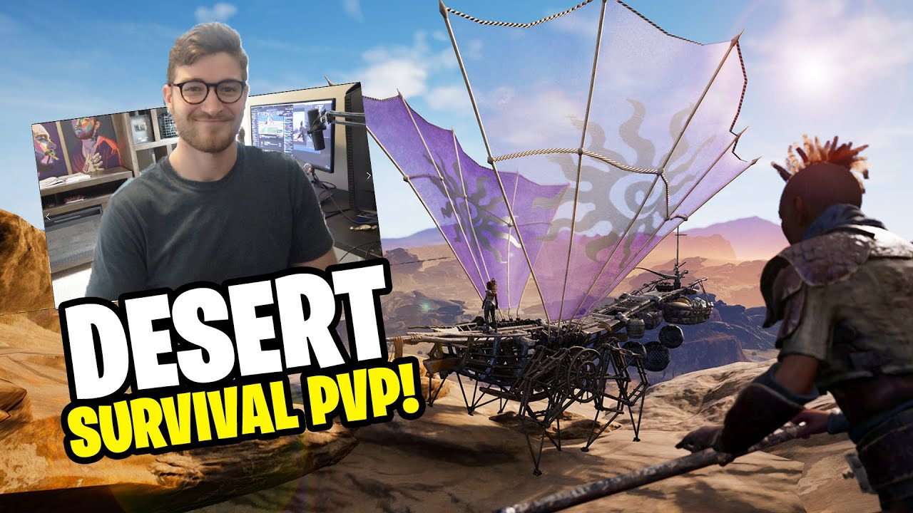 Download THE BEST Desert Survival PVP Game IS BACK! (LAST Oasis Gameplay Season 2 EP1)