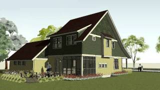 Simple Bungalow, Craftsman  Home Plan - Small House Plan - The Bayport Bungalow