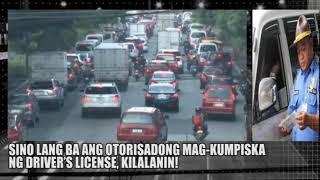 SINO LANG ANG OTORISADONG MAGKUMPISKA NG DRIVER'S LICENSE SA PILIPINAS