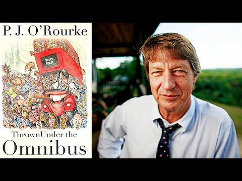 P.J. O'Rourke on Thrown Under the Omnibus at the 2015 Miami Book Fair