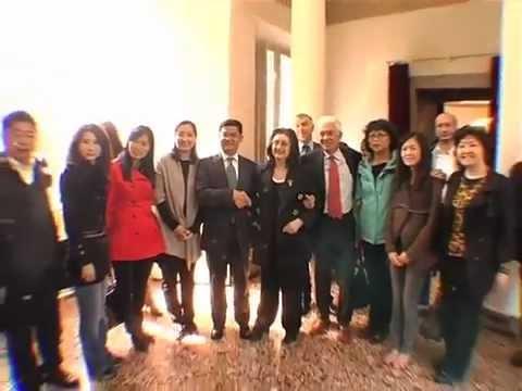 Camera di Commercio Cinese Import & Export of Textiles visita il Centergoss