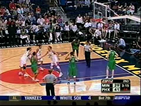 Classic WNBA: Phoenix Mercury vs. Minnesota Lynx (August 8th, 2006)