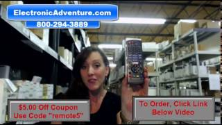 Panasonic N2QAYB001024 Coupon $5 Off Remote Control Blu Ray – ElectronicAdventure.com