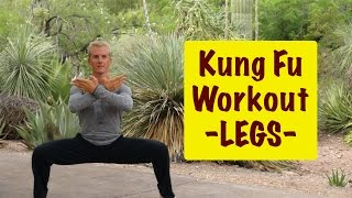 Epic Martial Arts Workout 3 of 4 - LEGS