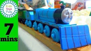 Thomas and Friends Snow Tracks   Sodor Storytime Season 13   Thomas Train Toys for Kids