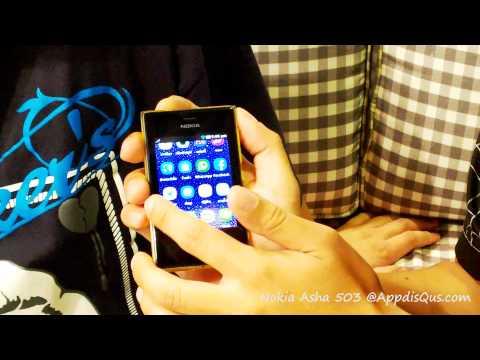 รีวิว Nokia Asha 503: ตอนที่ #2 การใช้งาน และสังคมออนไลน์