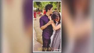 Unkudave porakkanum song    Sister and brother love    brother surprise sister    TikTok video