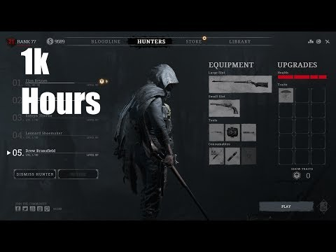 Hunt : Showdown - 1000 hours