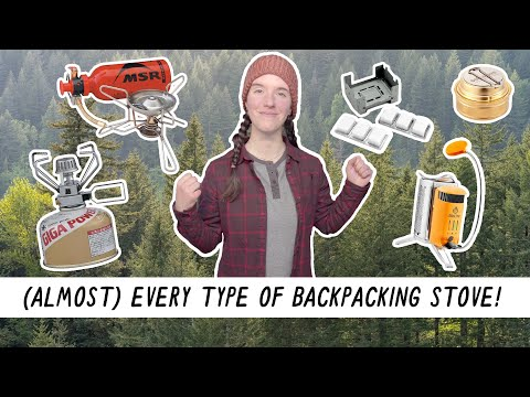 Trying Every Type of BACKPACKING STOVE! | Miranda in the Wild