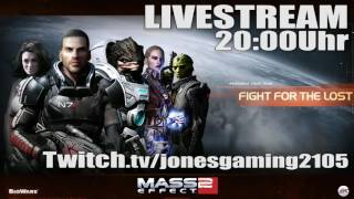 ⚝ MASS EFFECT 2 - LIVESTREAM 20:00Uhr - 17.12.2016 - TWITCH GAMEPLAY DEUTSCH GERMAN thumbnail