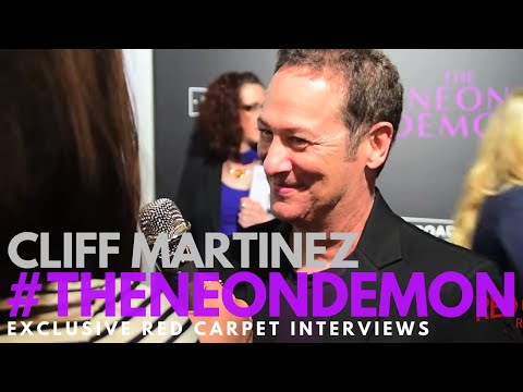 Cliff Martinez, composer, interviewed at the LA Premiere of The Neon Demon #TheNeonDemon