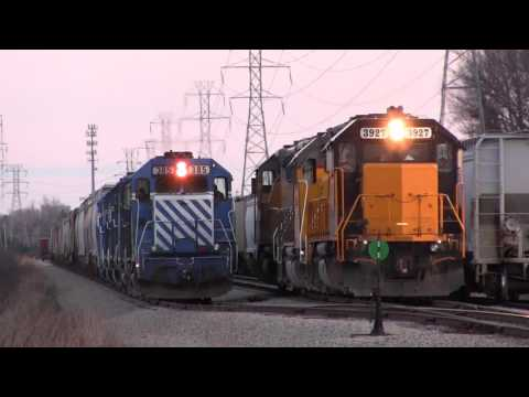 Ann Arbor Railroad and Great Lakes Central Railroad!