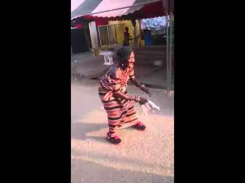 Funny African dance moves/old lady/WhatsApp