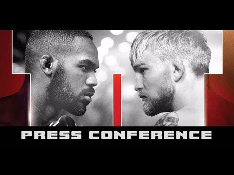 UFC 232 Press Conference: Jones vs Gustafsson, Cyborg vs Nun
