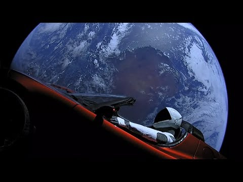 Live Views of Starman From Space | SpaceX