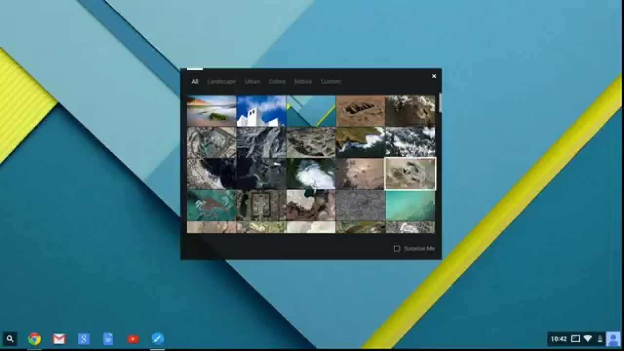 Chromebook Basics: How to use a custom wallpaper. - YouTube