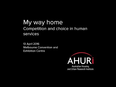 Professor Ian Harper AHURI conference keynote address